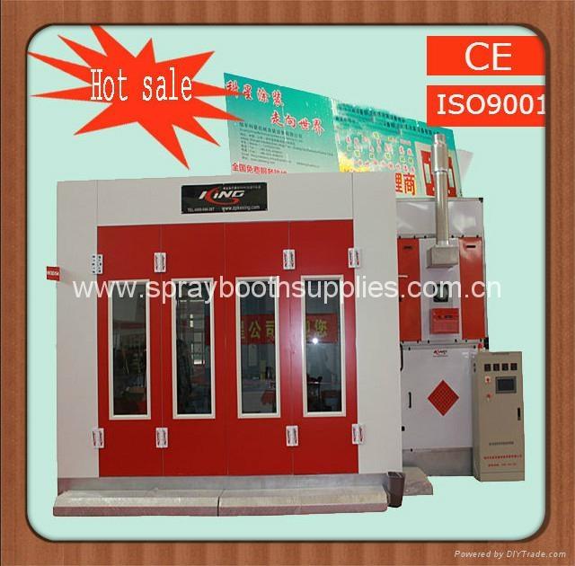 CE ISO9001 car spray booth/car paint cabin 3