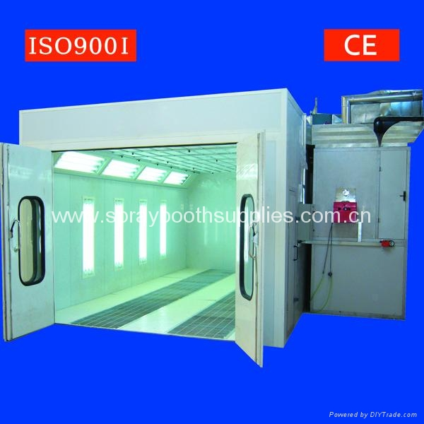CE ISO9001 car spray booth/car paint cabin 2