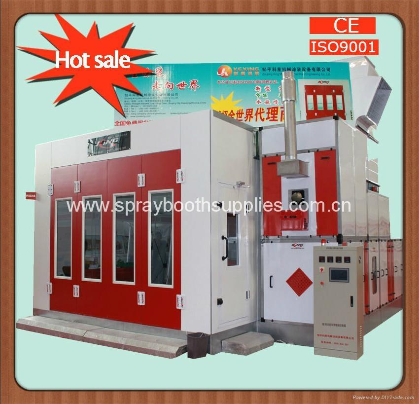 CE ISO9001 car spray booth/car paint cabin 4