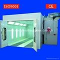 CE ISO9001 car spray paint cabin design