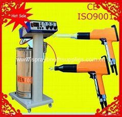 electrostatic powder coating gun