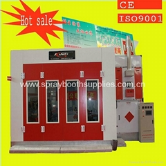 CE ISO9001 water based car spray booth/cabin design