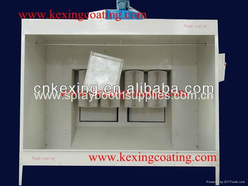 Powder coating booth paint booth paint cabin design kx for Powder coating paint booth