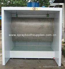 water curtain paint cabin for spray paint