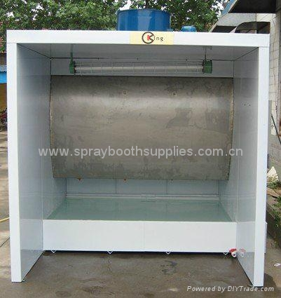water curtain spray paint booth water curtain spray paint cabin kx