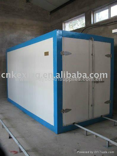 Powder curing oven powder baking cabin paint drying cabin for Paint curing oven