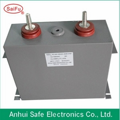 Oil Filled Metallized polypropylene film 3000UF 1250VDC capacitor