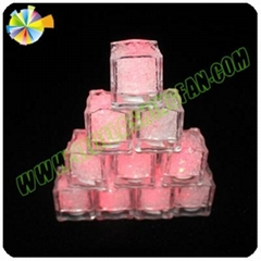 swimming pool decoration glow ice cube with color changeable