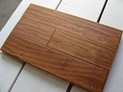 White Oak, Birch, Blackwood, Merbau, Teak Hand-scraped Flooring