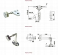 point-fixed glass curtain wall fittings 2