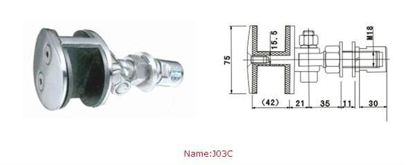 point-fixed glass curtain wall fittings 3