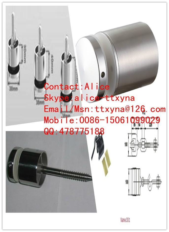 Stainless steel glass clamp for curtain wall 2