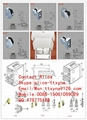 Stainless steel glass clamp for curtain wall 3