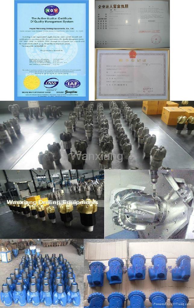 Kingdream Diamond Insert Bit/Diamond Oil Drilling Bit 3