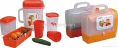 Plastic Picnic Set /pitcher,jug,waterpots,kettles
