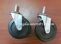 NP Rubber Casters