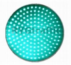 300mm Clear Lens Green LED Traffic Light Module