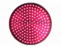 300mm Clear Lens Red  LED Traffic Light Module