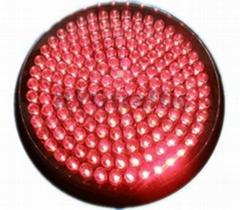 300mm Small Lens Red LED Traffic Light Module