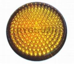 300mm Small Lens Yellow LED Traffic Light Module