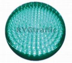 300mm Small Lens Green LED Traffic Light Module