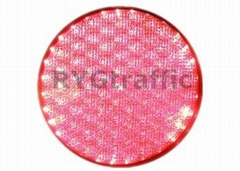 300mm Cobweb Lens Red  LED Traffic Light Module