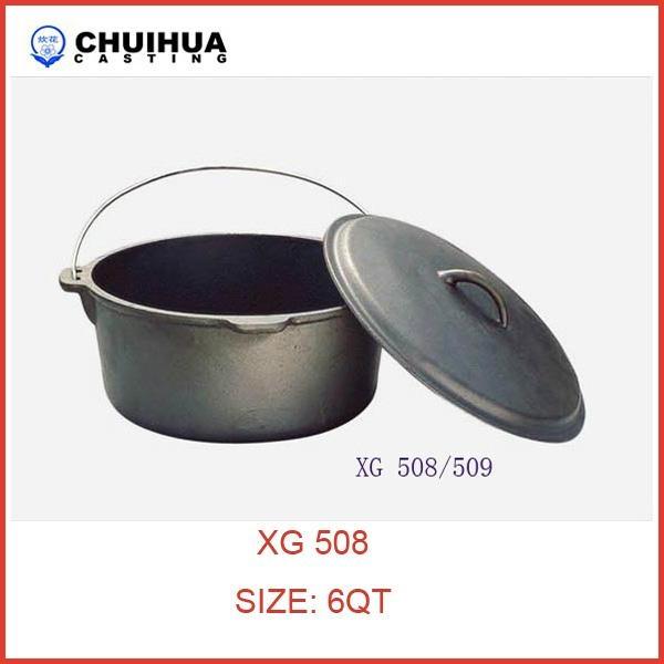 Cast iron dutch oven 1