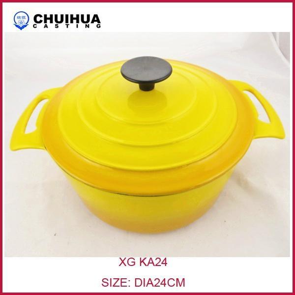 Cast iron casserole 1