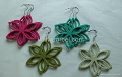 nonslip flocked scarf hangers