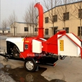 CE farm machinery diesel engine tractor wood chipper