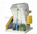 Rubber and solid plastic crusher.