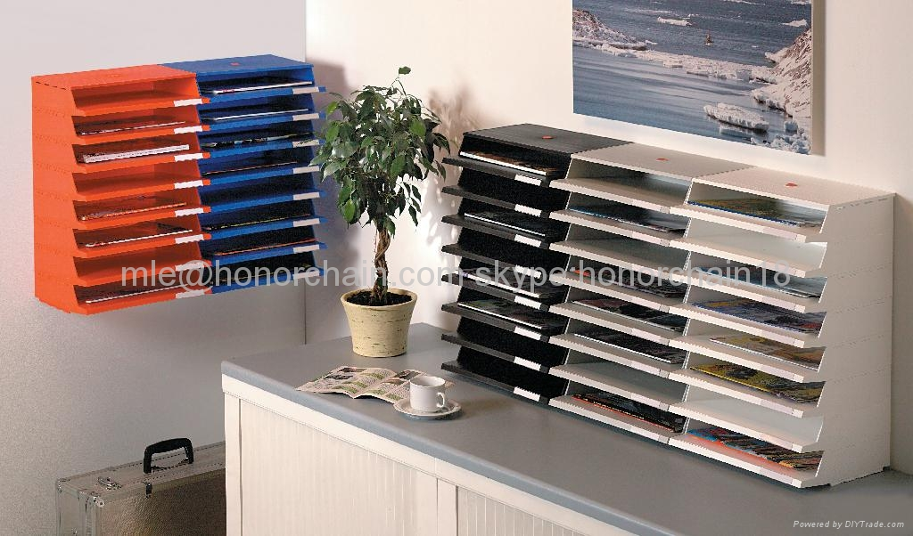 Office Stackable Doent Tray File 2
