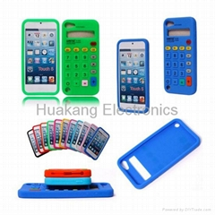 Custom Rubber Silicone Phone Case Housing Apple iPhone Accessory