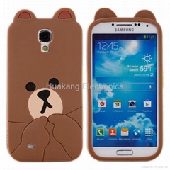 Cute Cartoon Silicone Cell Phone Case Shell