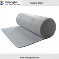 ceiling diffusion media for paint booth
