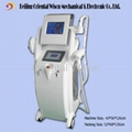 3 in1 Laser RF Elight IPL women hair removal machine