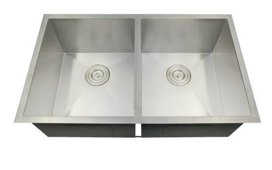 Handmade stainless steel kitchen sink 1