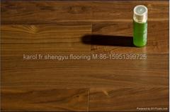 B.Walnut Engineered Wood Flooring(Multilayered)