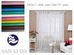 100% Polyester Inherent Flame Retardant  voile