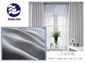 100% Polyester Inherent Flame Retardant Blackout Fabrics 2