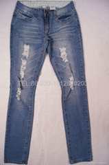 Lady style jeans
