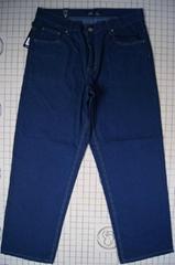原单外贸男式牛仔长裤