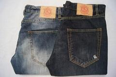 原单外贸男式牛仔裤