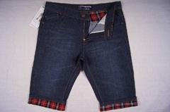 Men style short jeans