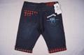 Men style short jeans 2