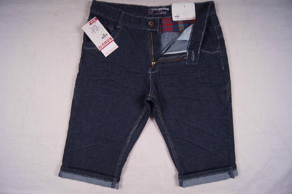 Men style short jeans 3