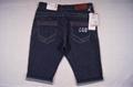 Men style short jeans 4
