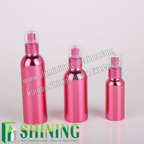 Pink Aluminum Bottle with UV Vacuum Coating   1