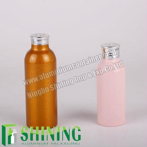 Fashion Aluminum Powder Bottle with Screw Cap   1