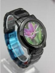 waterproof ceramic wristwatch